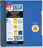 3 Subject Five Star Advance Wirebound Notebook -