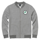 North Country Asher Fleece Bomber - Gray