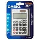 Casio SL-300SV Solar Power Calculator w/plastic sleeve