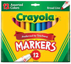 Crayola CLASSIC Markers - Conical Tip