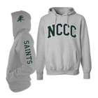 NCCC Pro-Weave Hooded Sweatshirt  w/Raised Felt Lettering