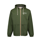 NCCC Vintage Hooded Rain Jacket - Mossy Green