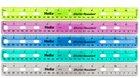 Helix Shatter-Resistant Ring Binder Ruler