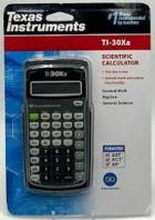 TI 30XA Scientific Battery Calculator -