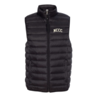 NCCC Men's Down Packable Vest -  Black